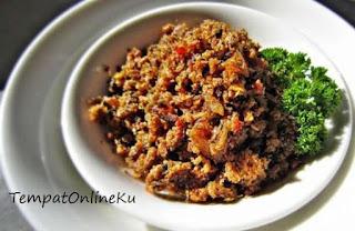 sambal goreng ikan roa manado