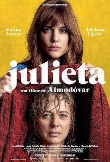 "Poster do filme ""Julieta"""