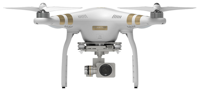 The Drone: DJI Phantom 3 Professional 4K Quadcopter Drone with Video Camera