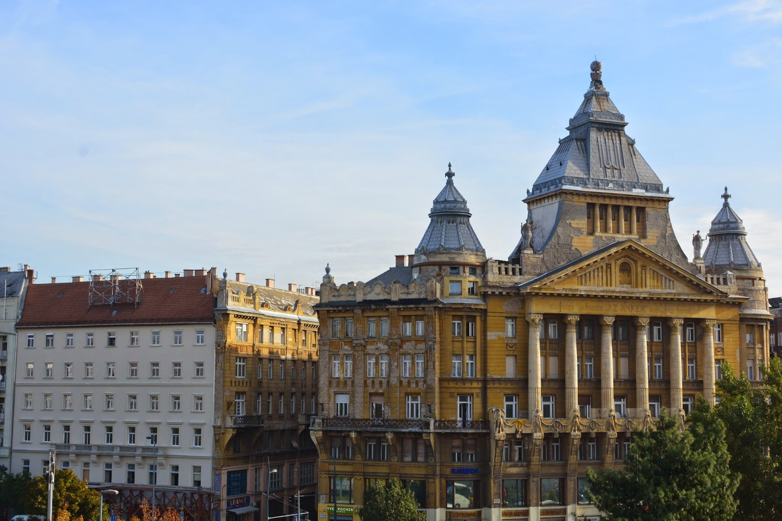 View from Le Meridien Budapest