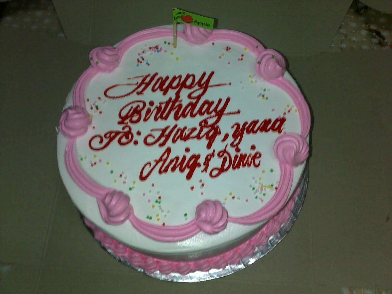 Happy Birthday Hubby Cake Pics