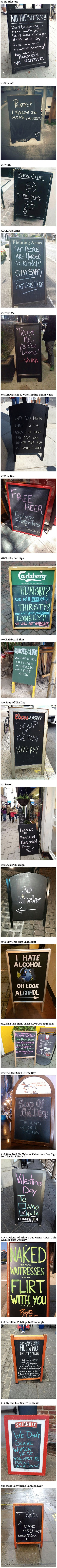 Funny restaurant sign collection picture