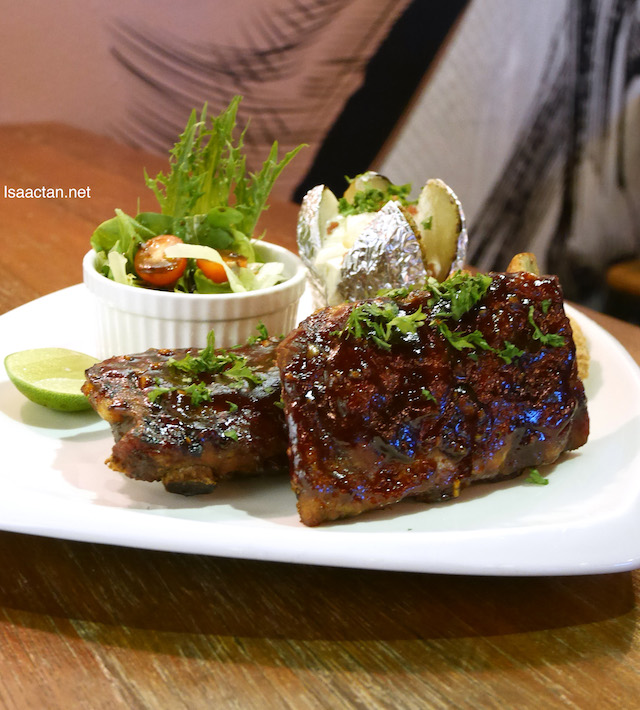 Beer Marinated Pork Ribs (RM53.90)