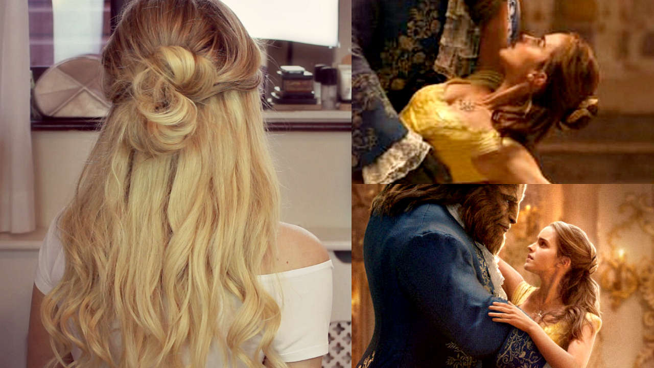 Beauty And The Beast Inspired Hair Tutorial Beauty And
