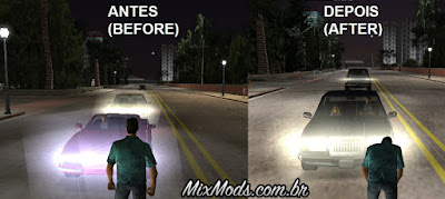 Headlight Fix gta vice city