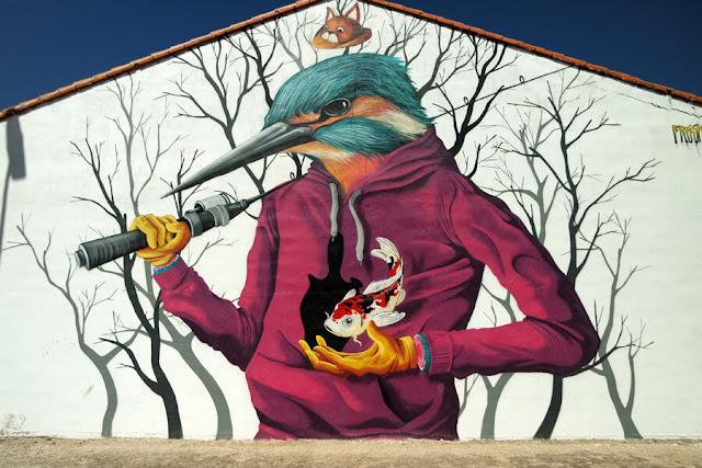 Arte urbano El Provencio