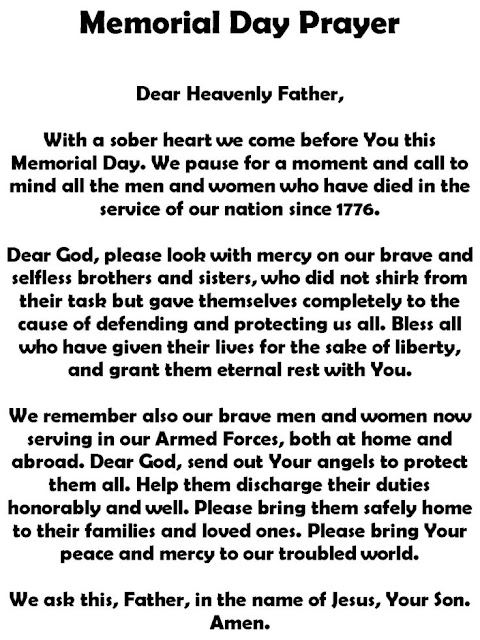 Essays for memorial day to honor soldiers