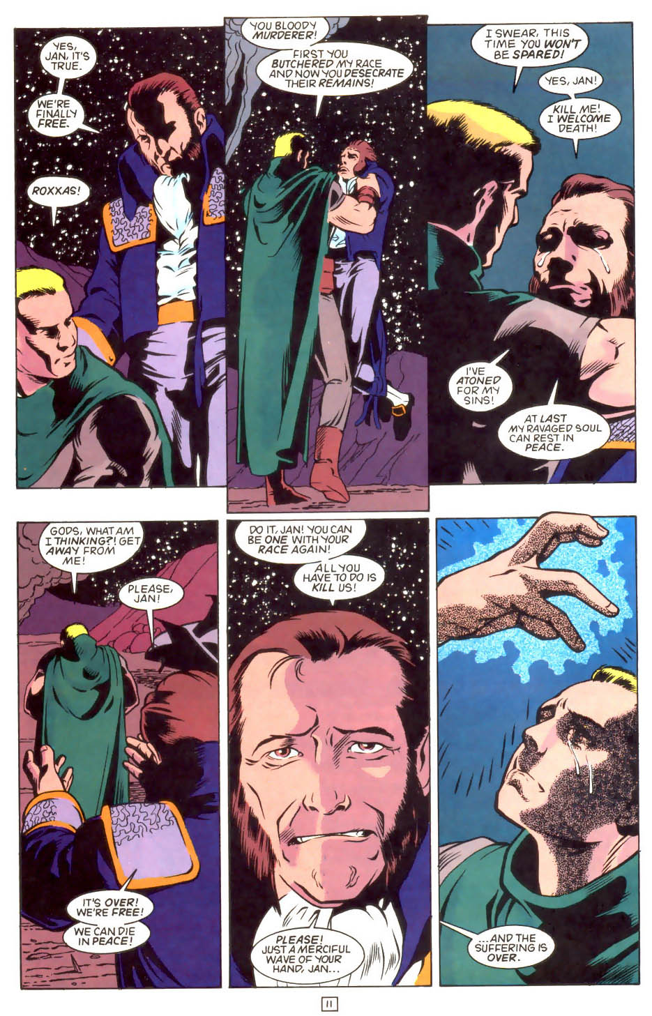 Legion of Super-Heroes (1989) 46 Page 11