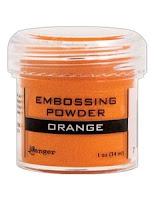 Embossing Orange Ranger