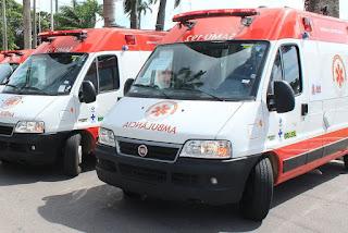 Pedra Lavrada e outras: Cidades paraibanas vão receber ambulâncias do Ministério da Saúde para o Samu