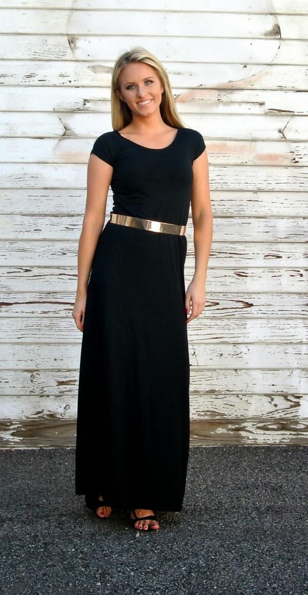 Black formal dress tutorial