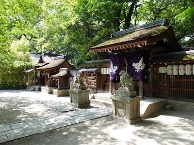 京都御苑・宗像神社 本殿