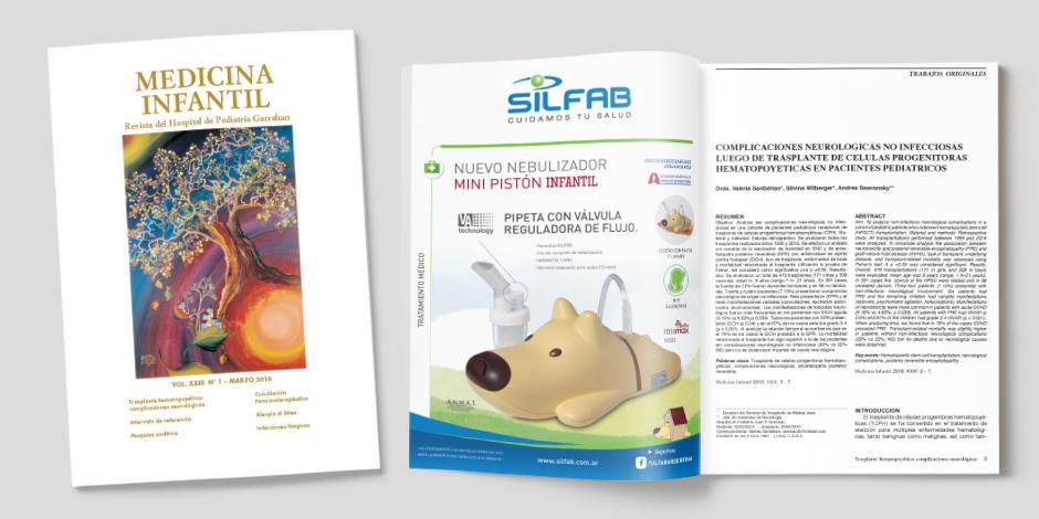 """Revista """"Medicina Infantil"""" del Hospital de Pediatría Juan P. Garrahan"""
