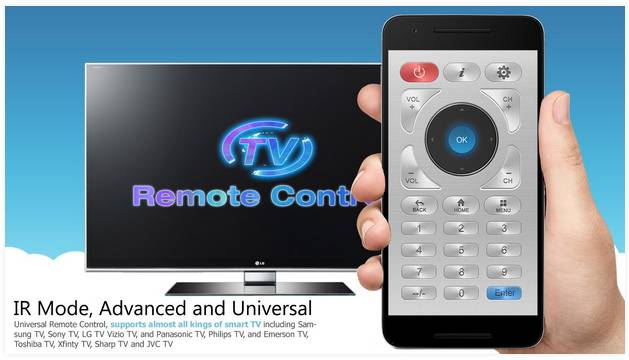 Android remote tv polytron protec