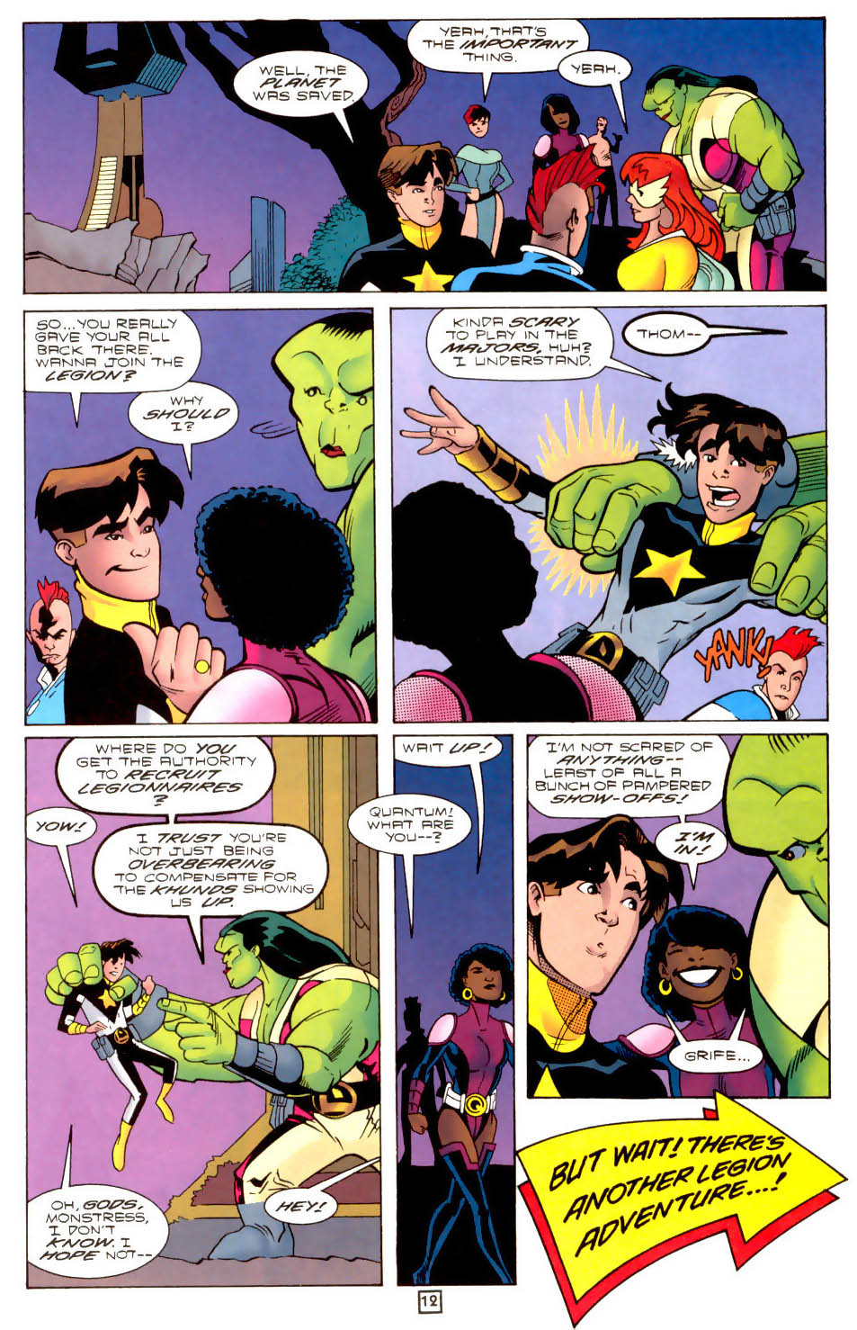 Legion of Super-Heroes (1989) 102 Page 12