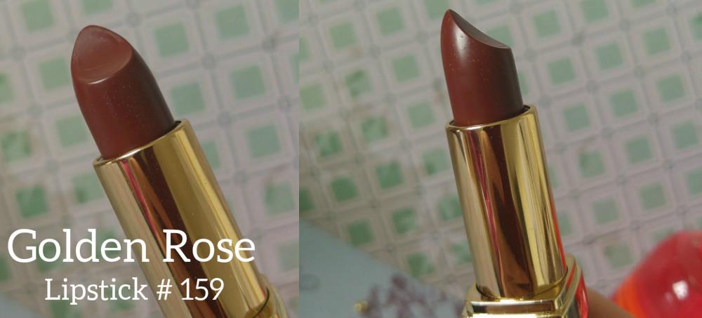Friday Lipstick 5 Chocolatey With Golden Rose Hydrating Lipstick