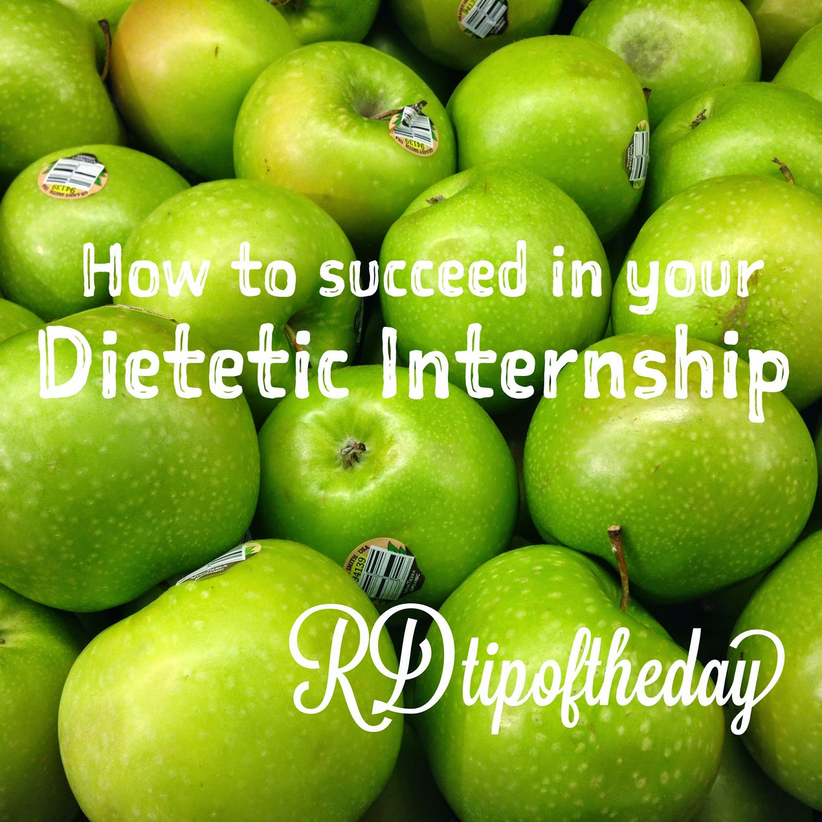 RD Tip of the Day : Becoming a Registered Dietitian: How to