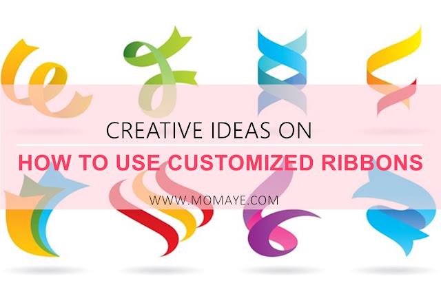 ribbons, customized ribbons, Crafts, home, creative ideas