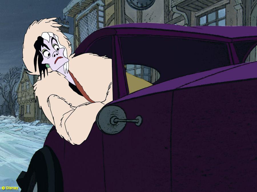Cruella Infinity S Vil Disney Car De
