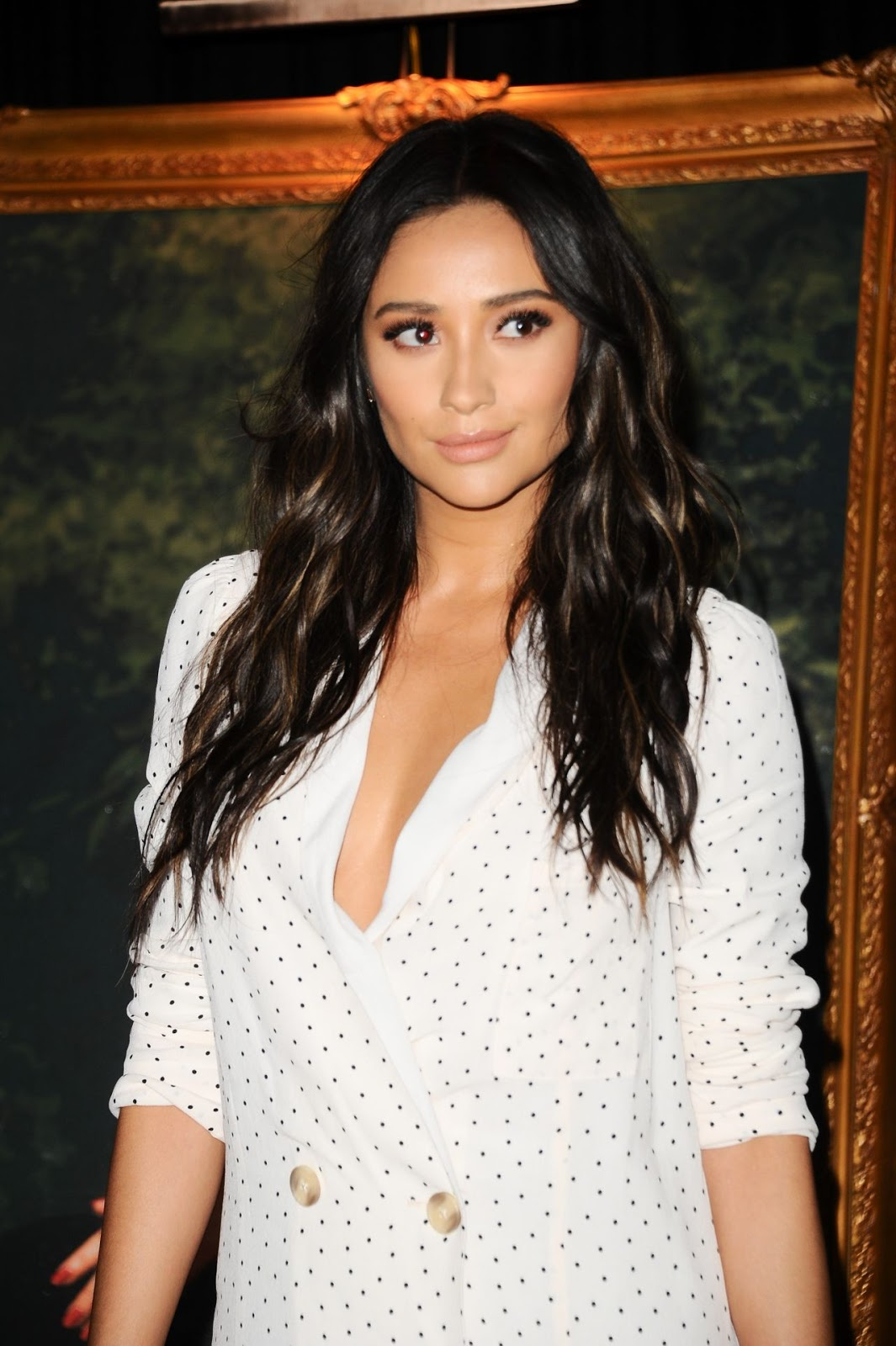 """Red Carpet Dresses: Shay Mitchell - """"Pretty Little Liars ..."""