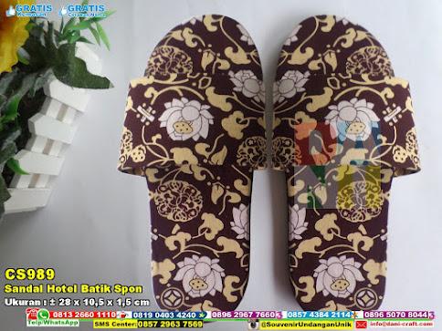 Sandal Hotel Batik Spon