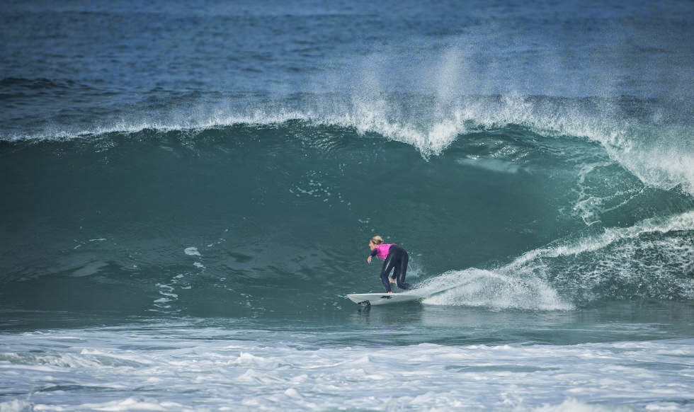 Roxy Pro France 2014 Stephanie Gilmore Foto ASP