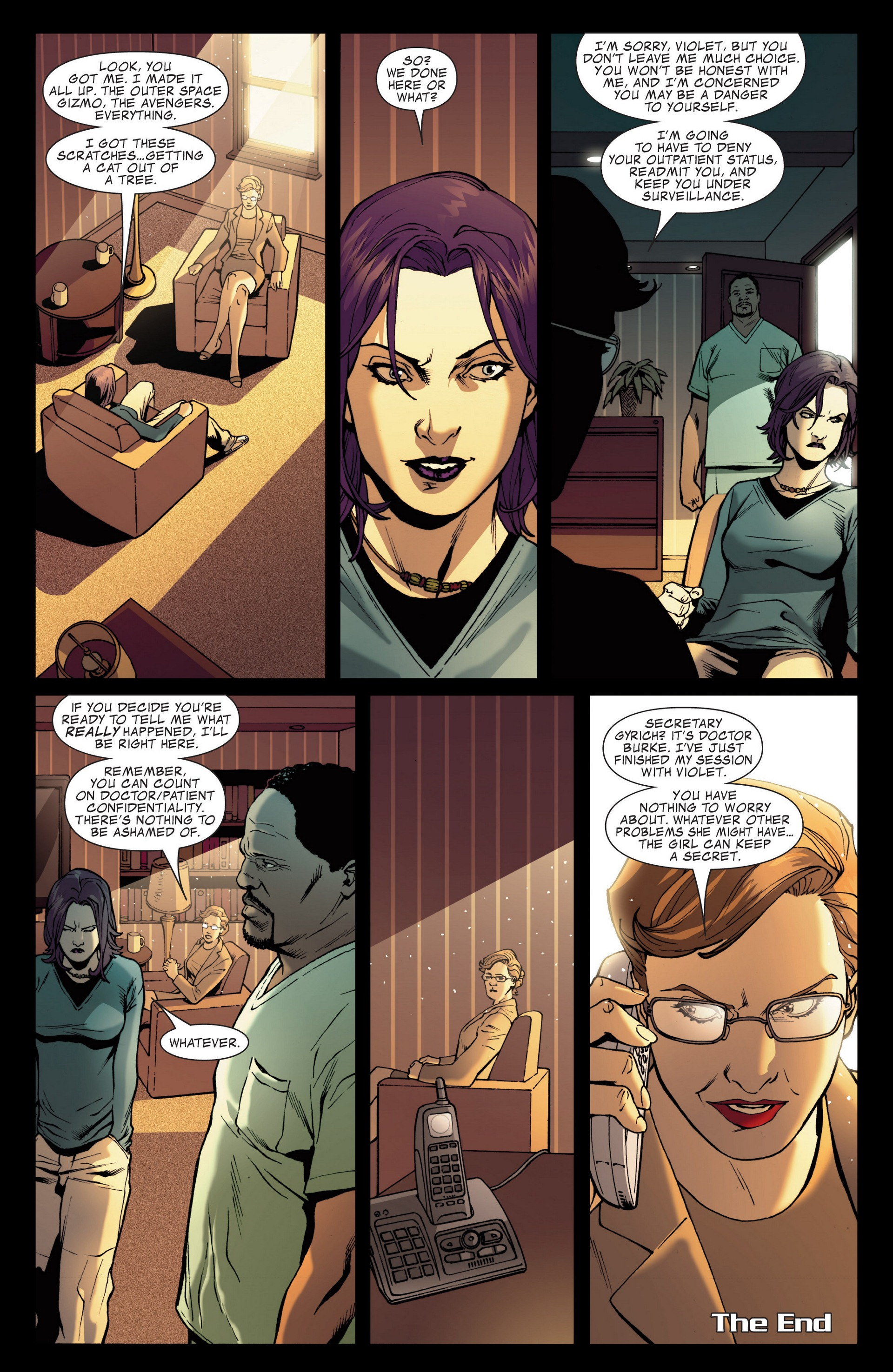 Read online Secret Invasion: The Infiltration comic -  Issue #4 - 16