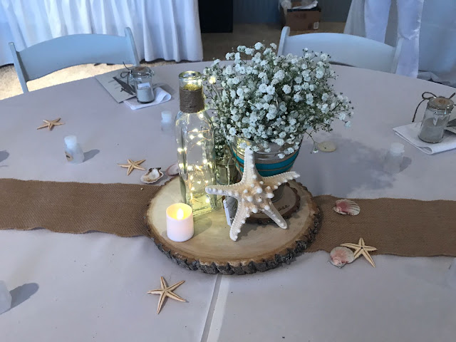 beach wedding, rustic chic, rustic wedding, baby breath flowers, key biscayne, miami
