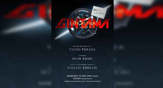 Sinopsis, detail dan nonton trailer Film Gintama (2017)