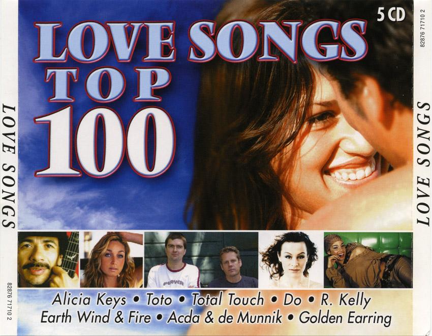 [Pop-Folk] Various Artists - Love Songs Top 100 (1995