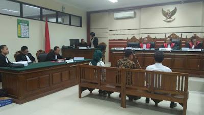 Kasus Korupsi Alat Peraga SMKN 2 Kota Mojokerto, Nurhayati : Hanya Jalankan Perintah Atasan