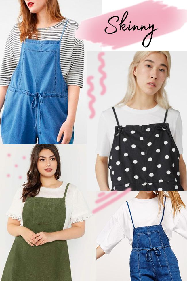 10 strap ideas for the Cleo dress - skinny straps