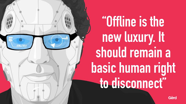 Gerd Leonhard Basic human right to disconnect