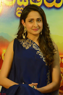 Pragya Jaiswal in beautiful Blue Gown Spicy Latest Pics February 2017 131.JPG