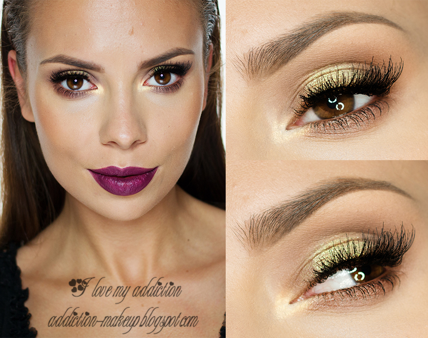 I Love My Addiction Berry Lips Makijaż Krok Po Kroku