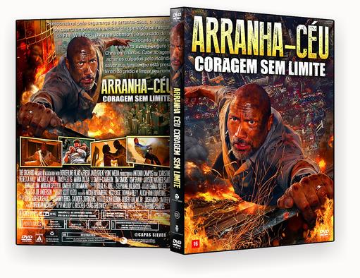 Arranha-Céu – Coragem Sem Limite 2018 – ISO – CAPA DVD