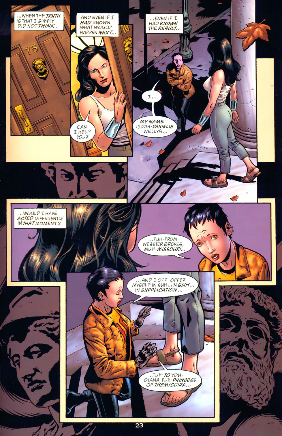 Read online Wonder Woman: The Hiketeia comic -  Issue # Full - 30