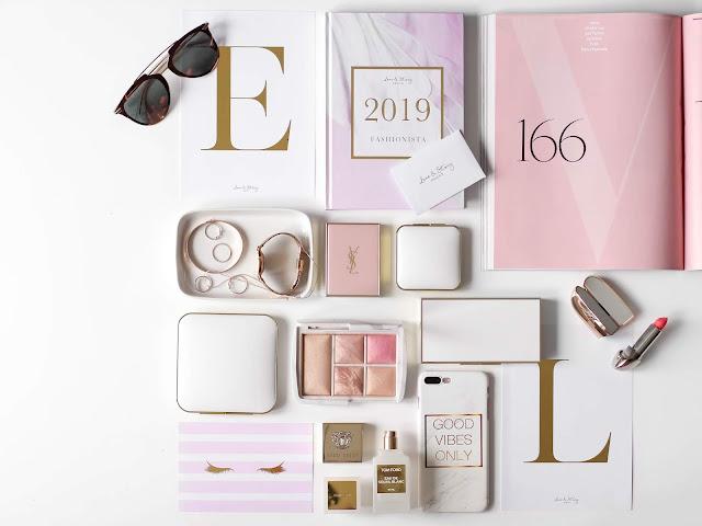 plánování a psaní do diáře 2019