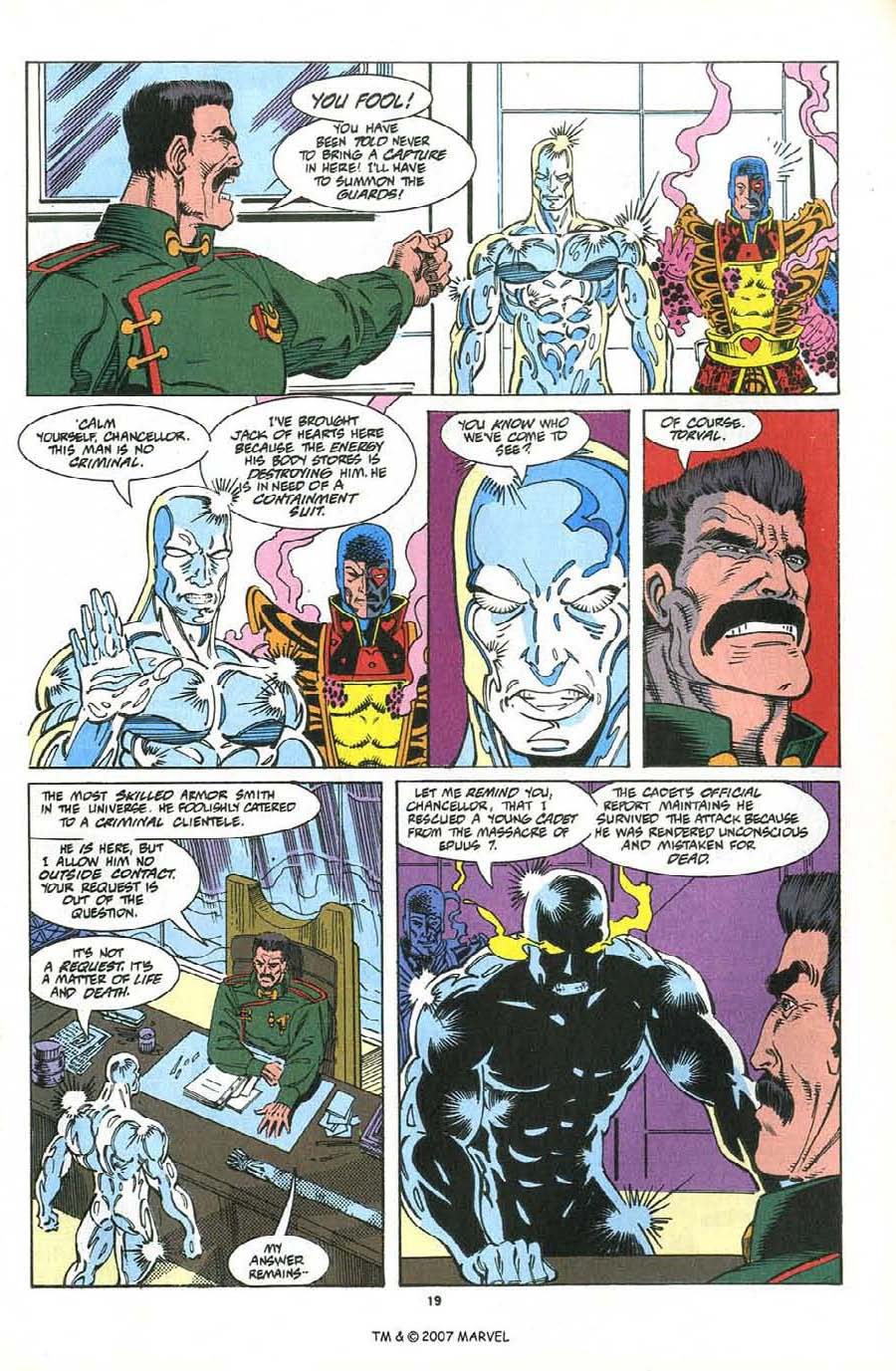 Read online Silver Surfer (1987) comic -  Issue #76 - 21