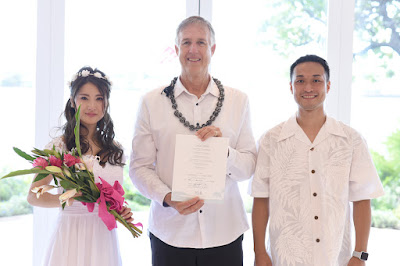 Married in Honolulu