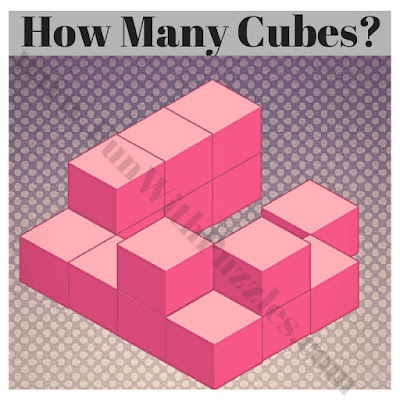 Can you count number of cube puzzle?