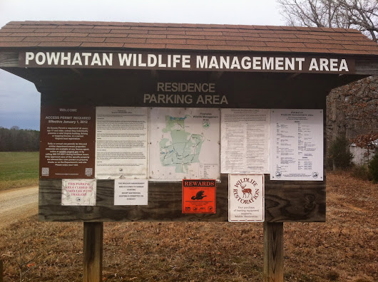 Powhatan Wildlife Management Area