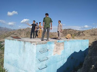<b>Diduga Bermasalah, Komisi III dan Pemuda Samili Tinjau Pekerjaan Proyek IKK Senilai Rp4,6 Milyar</b>
