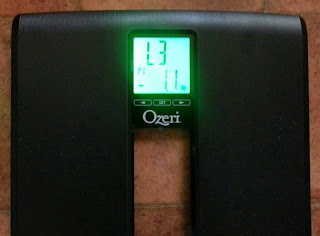 Ozeri Weightmaster II 200kg Digital Bathroom Scale Review digital display