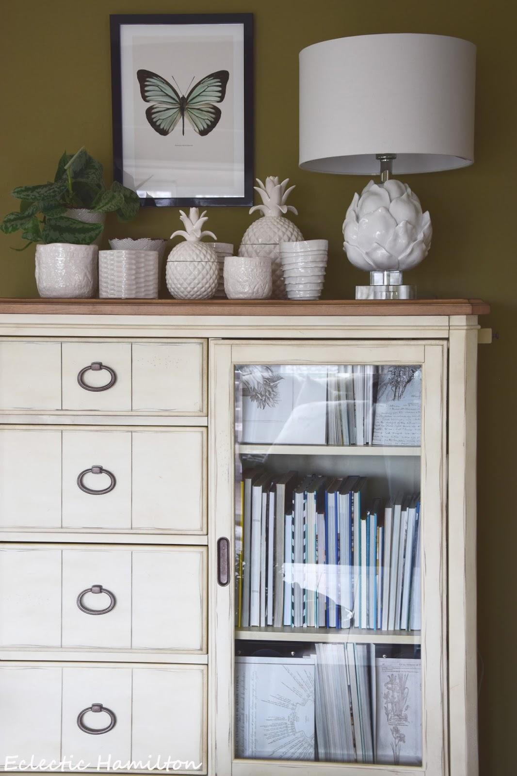 Ein Lichtblick im Wohnzimmer mit Ananas und Artischocke - Eclectic ...