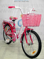City Bike Wimcycle Strawberry 20 Inci