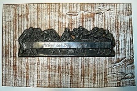 quadro em madeira de demilição