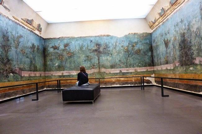 museu roma sala afrescos livia - Palácio Massimo, Museu de Roma