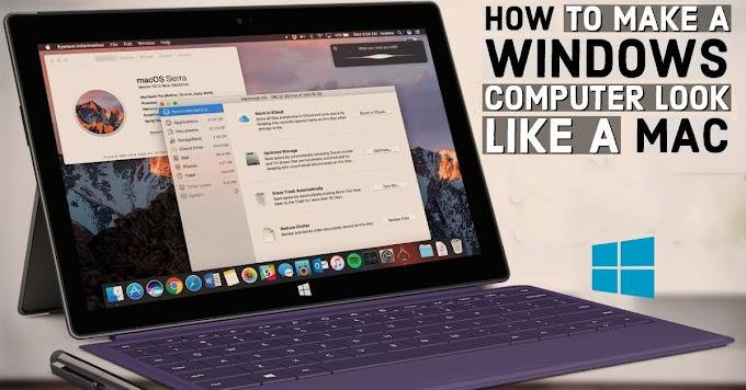 How to Make a Windows Computer Look Like a Mac
