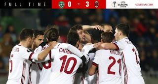 Ludogorets Razgrad vs AC Milan 0-3 Highlights